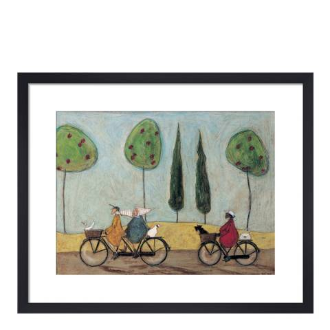 Paragon Prints A Nice Day For It Framed Print, 40x50cm