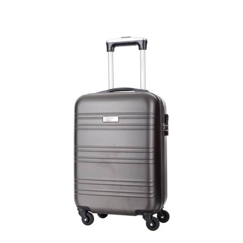 Steve Miller Grey Child 4 Wheeled Cabin Suitcase 46cm
