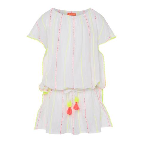 Sunuva Girls White Boho Dress