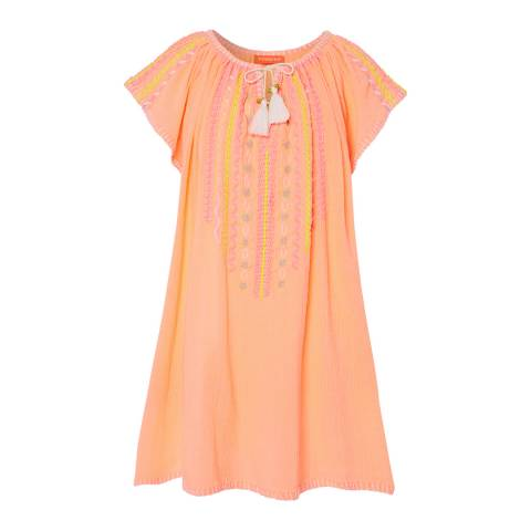 Sunuva Girls Souffle Cheesecloth Dress
