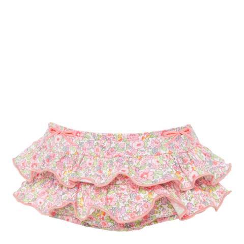 Sunuva Baby Girls Liberty Floral Frill Nappy Pant