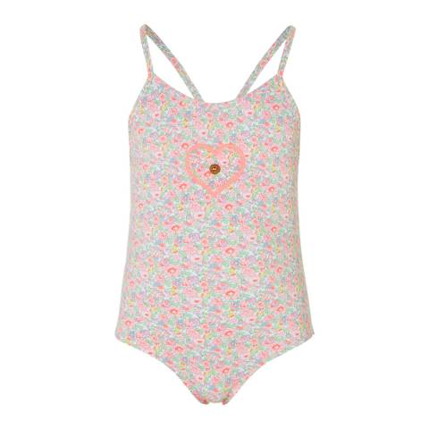 Sunuva Baby Girls Liberty Floral Swimsuit