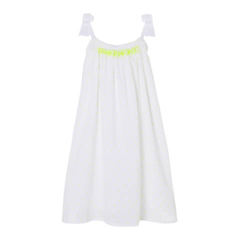 Sunuva Girls Neon Dot Big Tie Dress