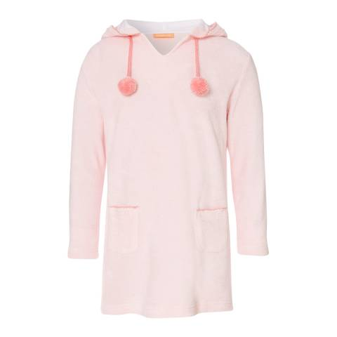 Sunuva Girls Baby Pink Towelling Dress