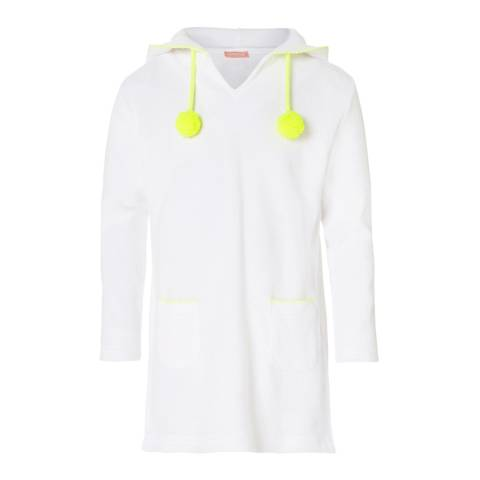 Sunuva Girls White Towelling Dress