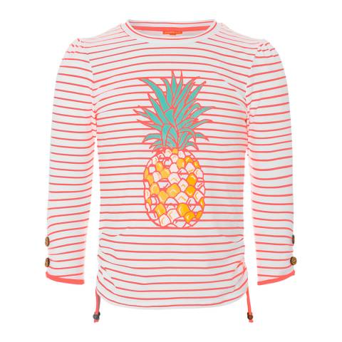 Sunuva Girls Neon Pineapple Rash Vest