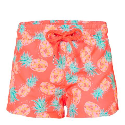 Sunuva Girls Neon Pineapple Swimshort
