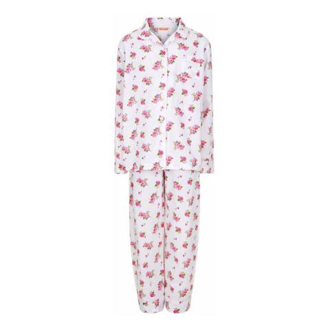 Sunuva Girls Floral Pyjama Set with Bag