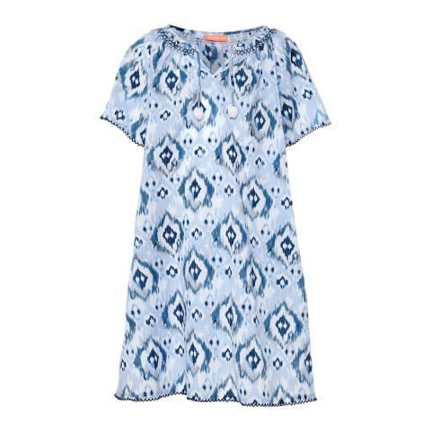 Sunuva Girls Ikat Kaftan Dress