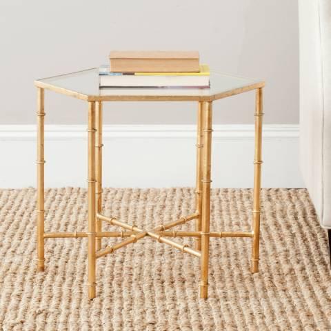 Safavieh Arianna Accent Table, Gold