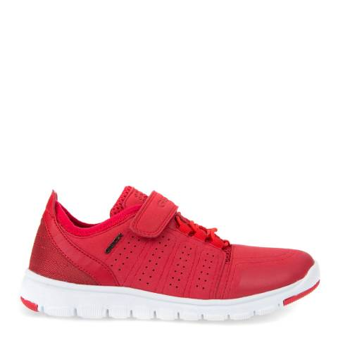Geox Kids Red Xunday Trainer
