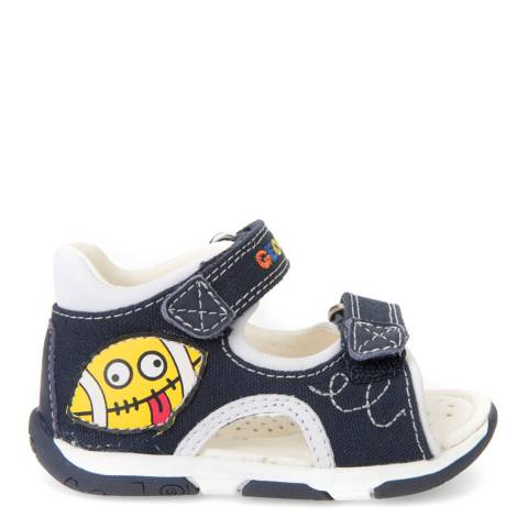 Geox Baby Denim Blue Tapuz Sandal