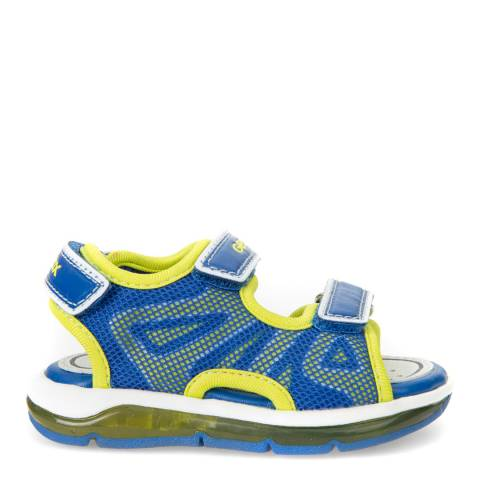 Geox Baby Navy & Yellow Todo Sandal
