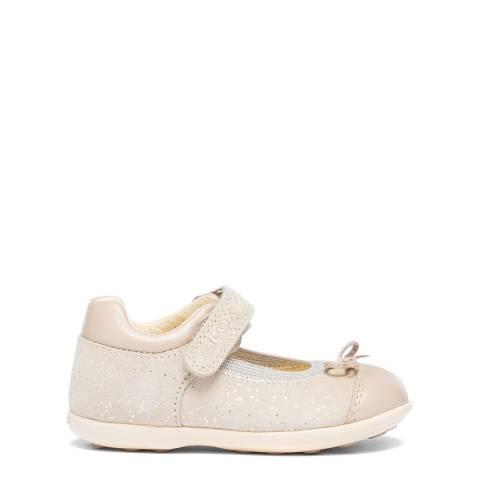 Geox Girls Pink Jodie Ballerina Shoes