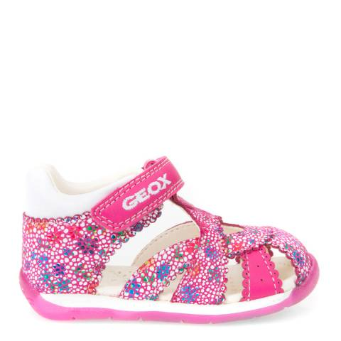 Geox Baby Pink Multi-Coloured Each Sandal