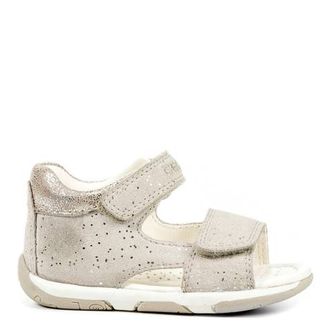 Geox Baby Beige & Gold Speckled Tapuz Sandal