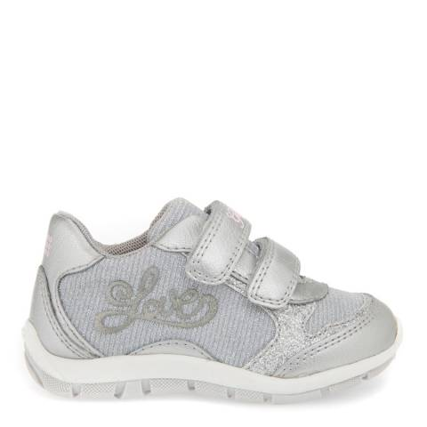 Geox Baby Silver Shaax Trainer