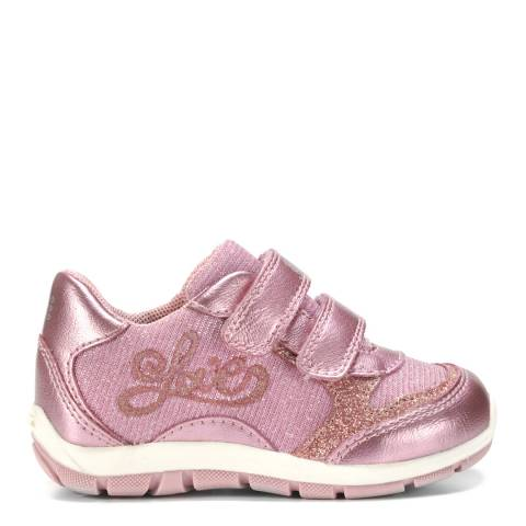 Geox Baby Pink Shaax Trainer