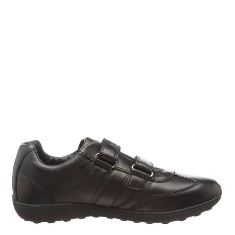 Geox Kids Black Xitizen Trainer