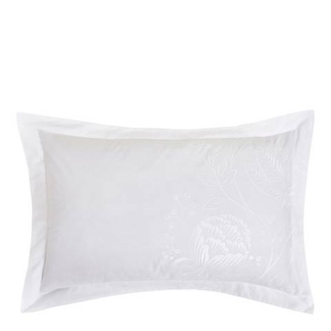 Harlequin Colette Oxford Pillowcase, Blanche