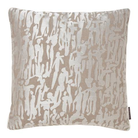Harlequin Lattice People Cushion 45 x 45cm, Chalk