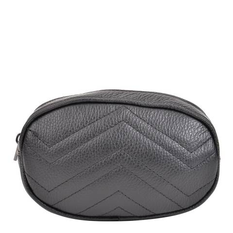 Sofia Cardoni Black Leather Belt Bag
