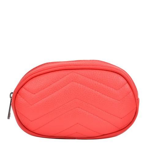 Sofia Cardoni Red Leather Waist Bag