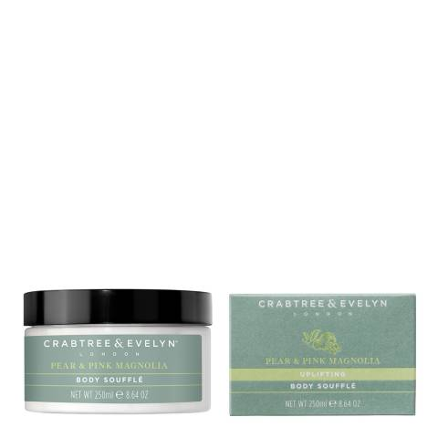 Crabtree & Evelyn Pear & Pink Magnolia Body Souffle 250g