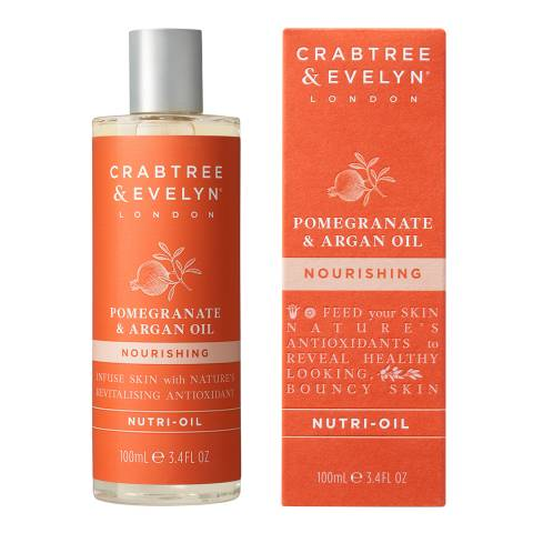 Crabtree & Evelyn Pomegranate & Argan Oil Nourishing Oil 100ml