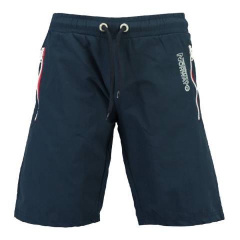 Geographical Norway Men's Navy Quasweet Swim Shorts