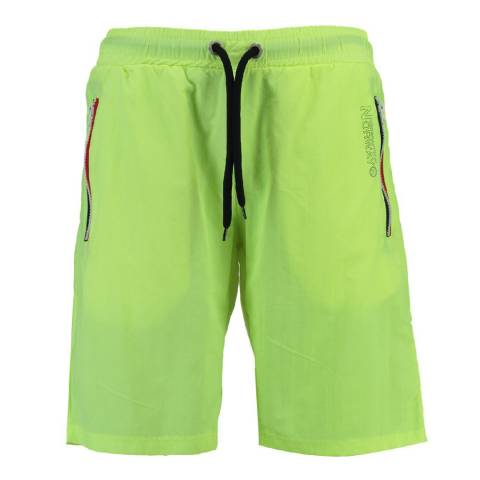 Geographical Norway Men's Lime Green Quasweet Swim Shorts