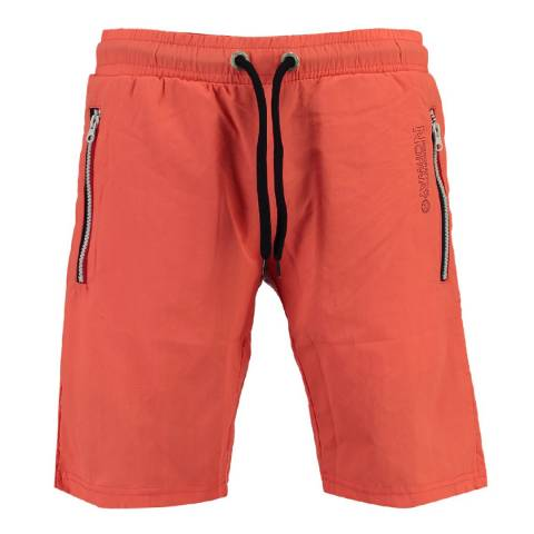 Geographical Norway Men's Coral Quasweet Swim Shorts
