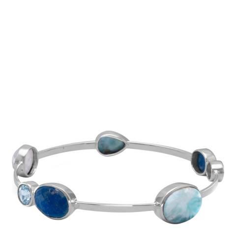 Alexa by Liv Oliver Blue Gemstone Bracelet