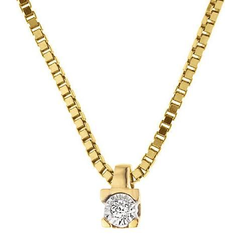 Only You Gold/Diamond Link Neckalce