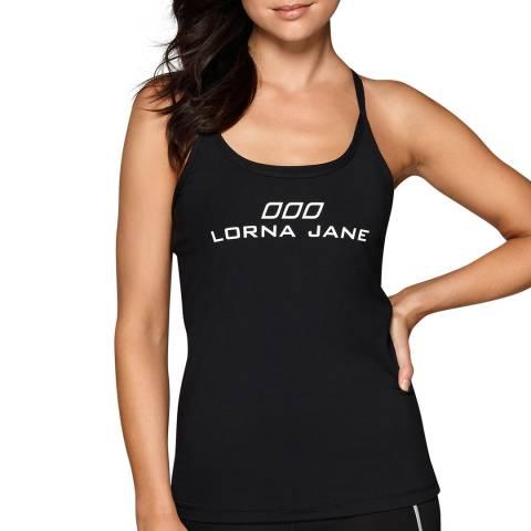 Lorna Jane Black LJ Classic Excel Tank