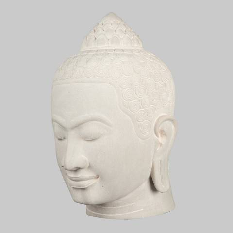 Eastern Treasures Stone Thai Style Buddha Head