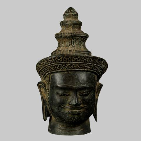Eastern Treasures Antique Indian Style Bronze Shiva Statue