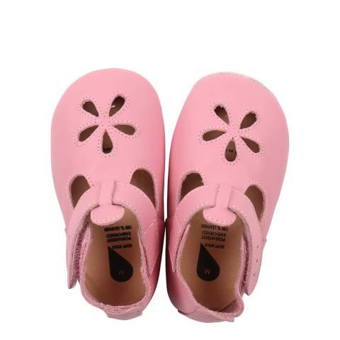 Bobux Kid's Pink Lotus Sandal