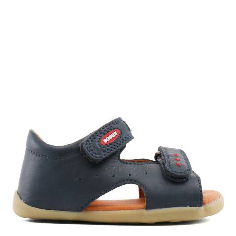 Bobux Kid's Navy Step Up Trekker Sandal