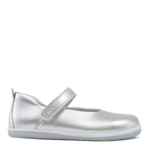 Bobux Kid's Silver Swirl Ballet