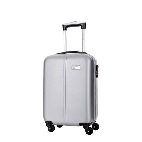 Travel One Silver Wild 4 Wheeled Cabin Suitcase 46 cm