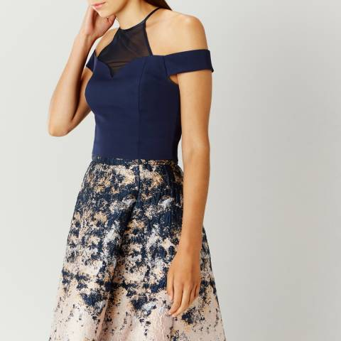 Coast Navy Azure Structured Top