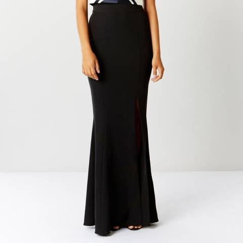 Coast Black Alice Structured Skirt