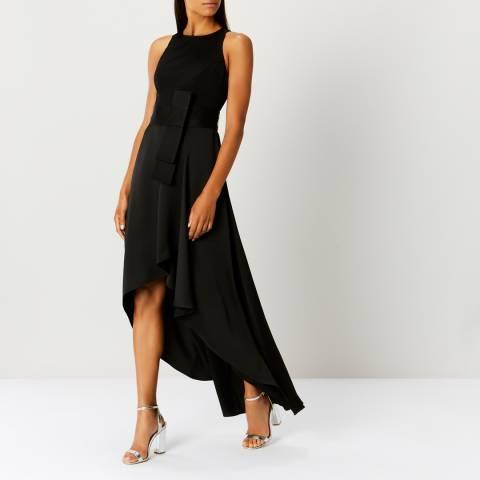 Coast Black April Belted Soft Dress