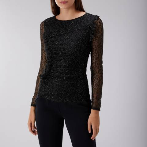 Coast Black Elliot Lace Top
