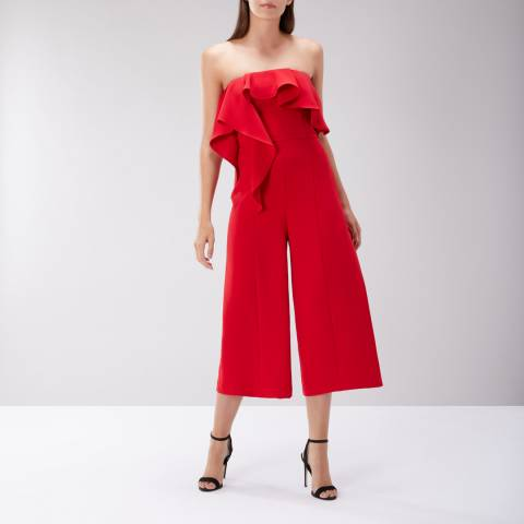 Coast Red Lissa Bandeau Jumpsuit