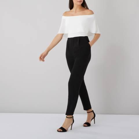 Coast White/Black Brooke Jumpsuit