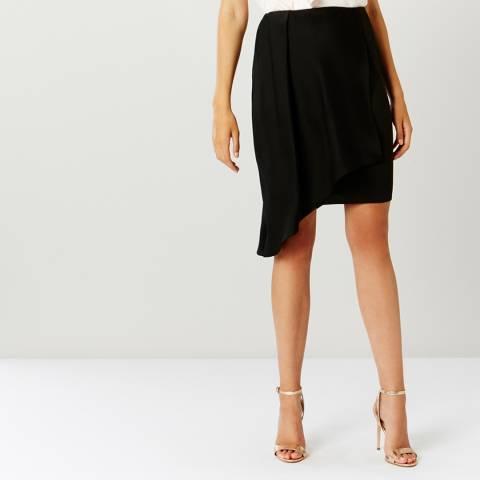 Coast Black Mindi Overlay Skirt