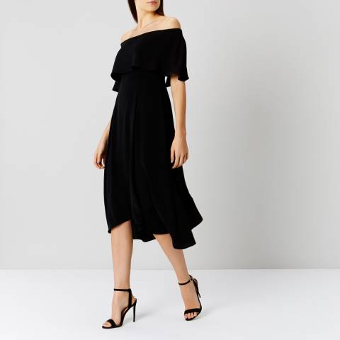 Coast Black Brooke Bardot Dress