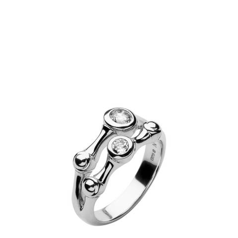 Links of London Sterling Silver Bella Bamboo Ring